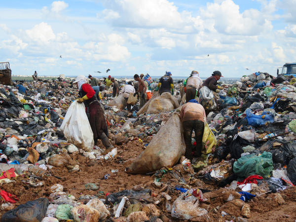 The world's second-biggest garbage dump is in Brasilia. It has been growing since the 1950s, when city planners failed to factor in proper facilities for trash disposal, and now occupies the equivalent of 250 football fields.