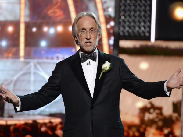Recording Academy and MusiCares president and CEO Neil Portnow, onstage during the Grammy Awards at Madison Square Garden on Jan. 28 in New York City.