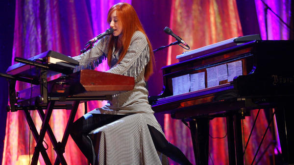 Tori Amos (shown here performing in 2009) was part of a wave of women musicians who took the reins, creatively and professionally, over their music in the '90s.