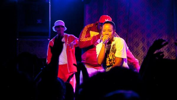 Chanté Adams plays the young rapper in <em>Roxanne Roxanne</em>.
