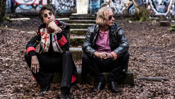 Arthur Buck is a new collaboration between Joseph Arthur (left) and R.E.M.'s Peter Buck.