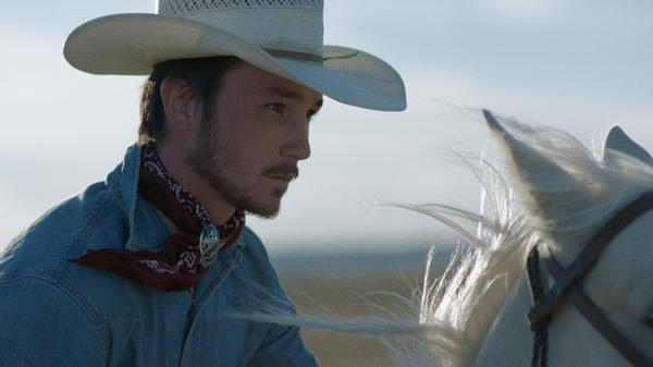 In writer/director Chloe Zhao's <em>The Rider</em>, Brady (Brady Jandreau) is forced to rethink his life after a traumatic rodeo accident.