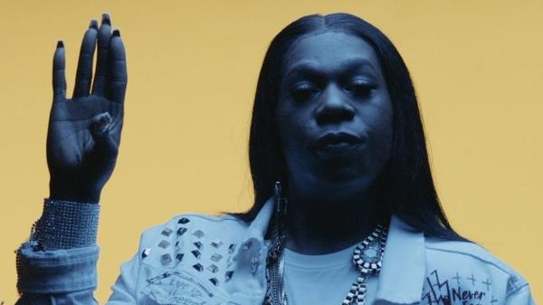 "A still from Big Freedia's ""Rent"" video."