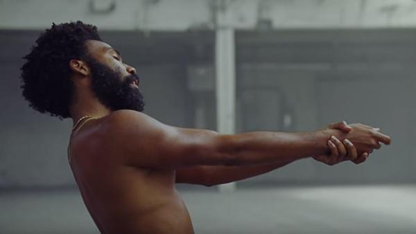 "A still from Donald Glover's ""This Is America"" video."