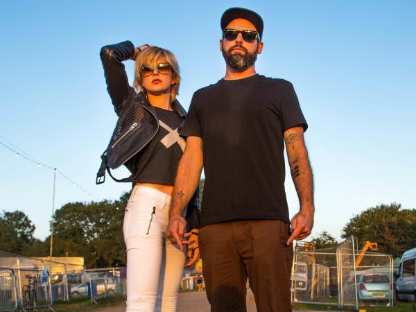 Phantogram's Sarah Barthel and Josh Carter