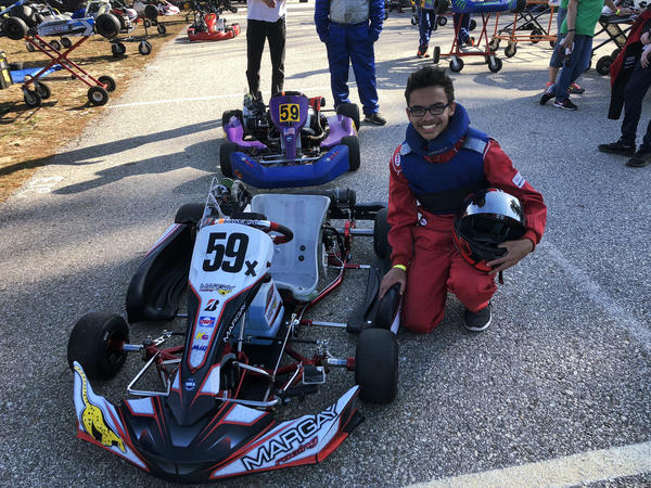 Blake Lothian, 15, is an East Coast champion go-kart racer. He tried other sports but found that karts were where he excelled.