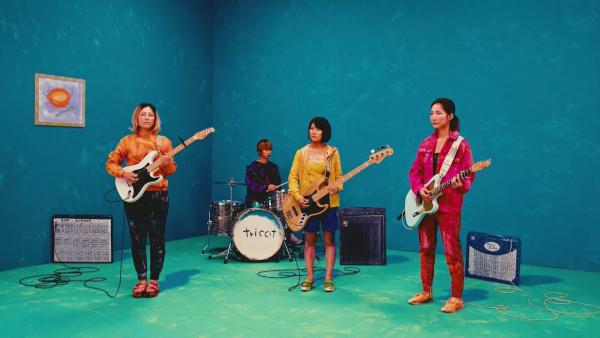 "A still from Tricot's ""potage"" video."