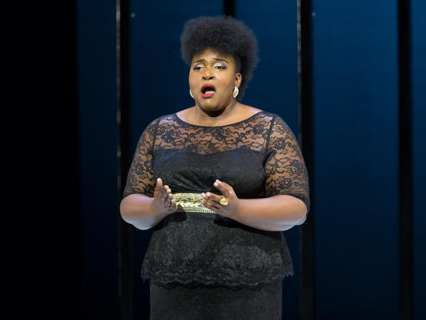 Soprano Leah Hawkins performs in <em>Justice at the Opera</em>.