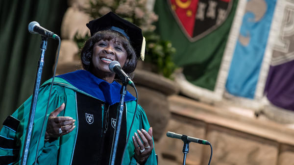 """When you go get your education, you've earned that,""  Irma Thomas says."