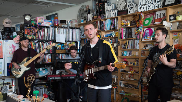 Tom Misch performs a Tiny Desk Concert on May 4, 2018.