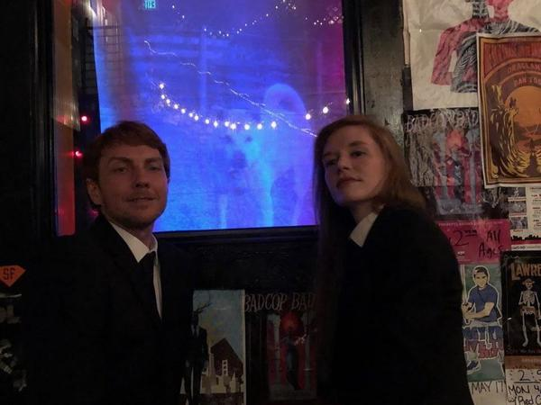 Keyboardist Nick White and bassist Anna Butterss at Bottom of the Hill in San Francisco.