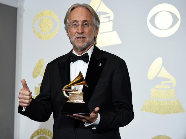 President and CEO of The Recording Academy Neil Portnow during the The 59th Grammy Awards on February 12, 2017 in Los Angeles. The executive announced his resignation from the position on May 31, 2018.