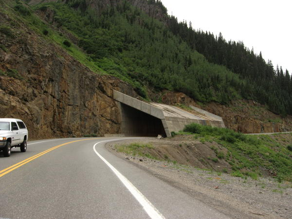 A section of Colorado Highway