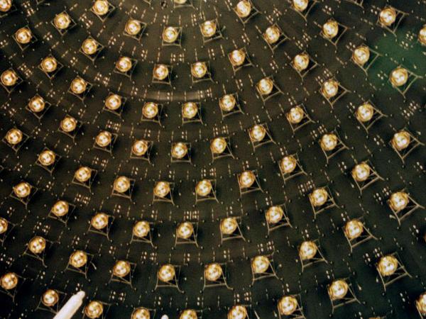 Detectors inside MiniBooNE experiment