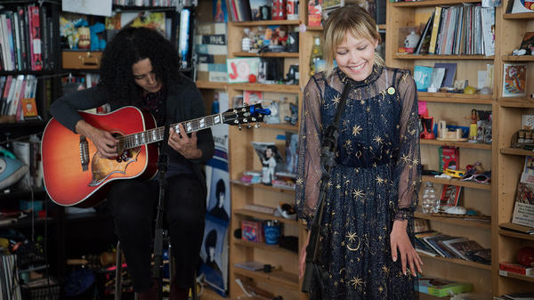 Grace VanderWaal performs a Tiny Desk Concert on May 1, 2018.