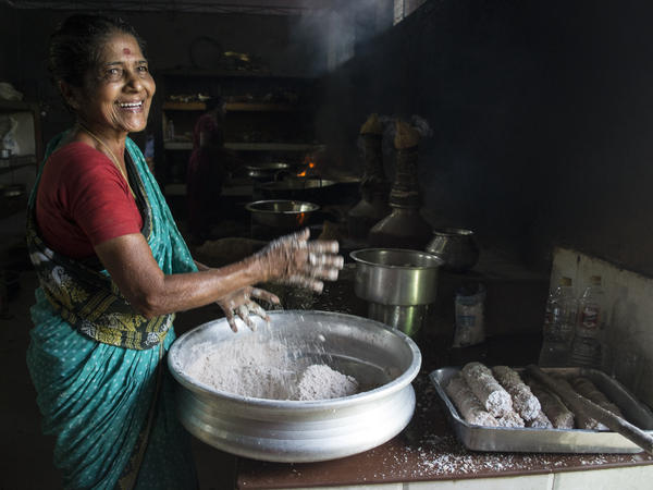 Radha CK has been working at Mullapanthal, one of the best-known toddy shops in Kerala, for three decades.