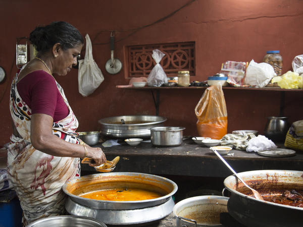Kaumari has been running Chungam Toddy Shop out of her family home for nearly five decades.