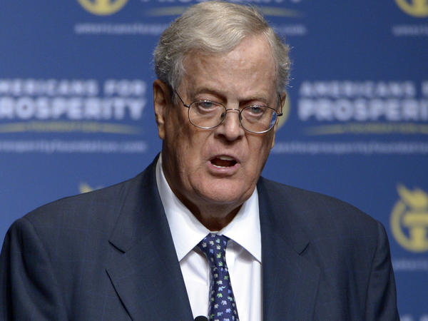 Billionaire donor David Koch has said he is stepping down from his business and political roles over health concerns.