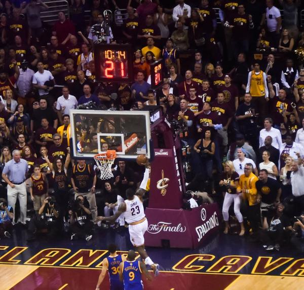 The Cavs have lost one one playoff game at home this season