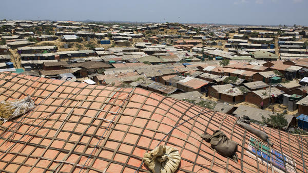 Hundreds of thousands of Rohingya refugees live in refugee camps, including in Cox's Bazar, Bangladesh on May 18.