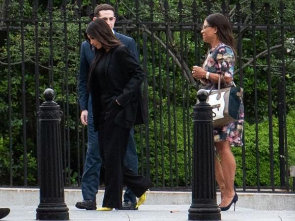 TV personality Kim Kardashian West went to the White House on May 30 to lobby for the release of Alice Marie Johnson.
