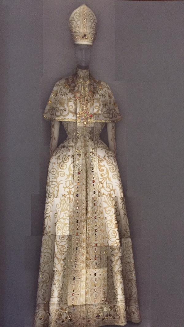 John Galliano, House of Dior, evening ensemble, autumn-winter 2000-01