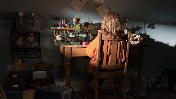 OK Well <em>This</em> Can't End Well: Charlie (Milly Shapiro) gets her creep on in <em>Hereditary</em>.