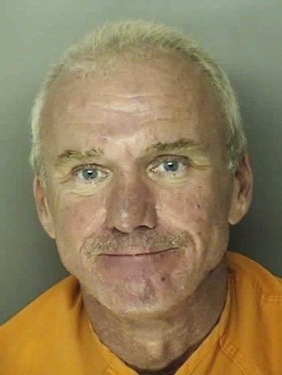 An undated mugshot shows Bobby Paul Edwards of Conway, S.C., a South Carolina restaurant manager who has pleaded guilty to enslaving a mentally challenged employee.