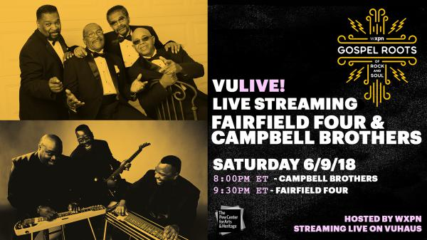 Fairfield Four & The Campbell Brothers perform live on Saturday, June 9, 2018.