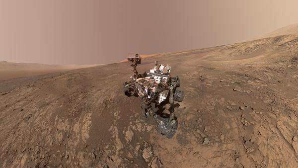 Two rock samples taken by NASA's Curiosity rover were found to contain organic molecules.