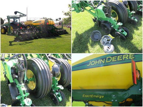 John Deere planter equipped with ExactEmerge technology (file)
