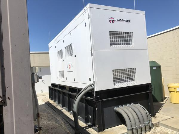 Bon Secours St. Petersburg installed their first generator in 2011. A new state law is forcing them to install a second one on the other side of their campus for the assisted living facility.