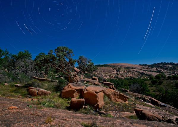 Enchanted Rock State Natural Area in Fredericksburg is already a designated dark sky park. The town now hopes to follow.