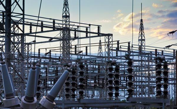A Duke Energy substation.