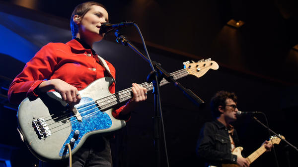 The Shacks performed an 11-song concert at WGBH's Fraser Performance Studio.