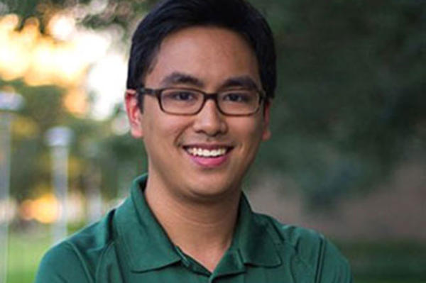 Minh Duong Dinh credits Pell Grants with helping him graduate debt-free from USF with a degree in chemical engineering.