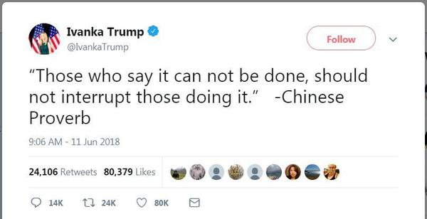 "After presidential adviser Ivanka Trump tweeted what she called a ""Chinese Proverb,"" many in China (and beyond) tried in vain to track down the quote's author."