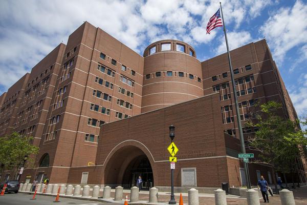Boston federal court (Jesse Costa/WBUR)