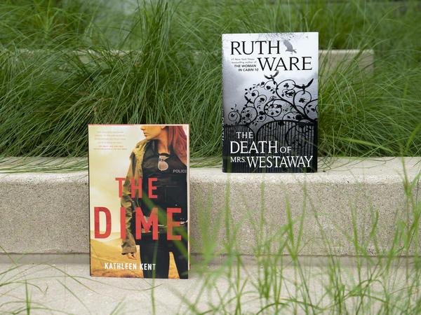 <em>The Death of Mrs. Westaway</em> by Ruth Ware / <em>The Time</em> by Kathleen Kent