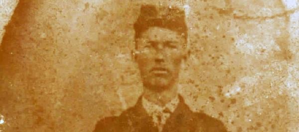 A picture of William Hall, who got away with murder in the late 19th century.