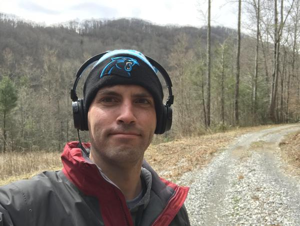"""Jeremy Markovich, the host of Our State Magazine's """"Away Message"""" podcast, travels around North Carolina in search of lost stories."""
