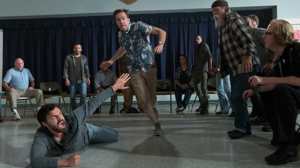 Jake Johnson's Chili (L) and Ed Helms' Hoagie (R) are part of a group of old friends who play an annual game of tag in ... <em>Tag</em>.