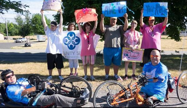 Doug Hamlin and John Robinson will ride their bikes for 350 miles over 12 days along the Erie Canal.