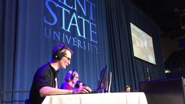 Tanner Yingling and his five fellow 'Overwatch' team-members came in second at the eSports tournament. He says playing the game has honed his skills at being a leader via mic-and-headphone.