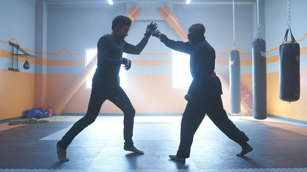Trevor Jackson and Michael K. Williams star in Director X's remake of the '70s blaxploitation film<em> </em><em>Superfly.</em>