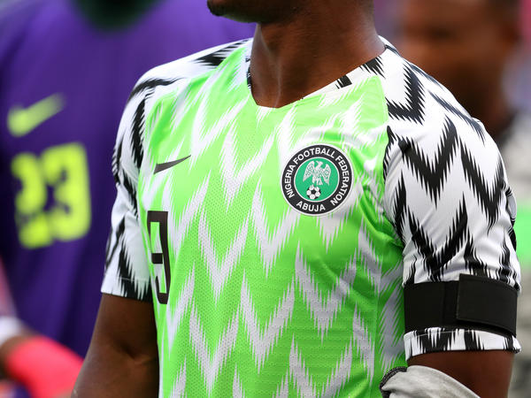 Nigeria's jersey for the 2018 World Cup