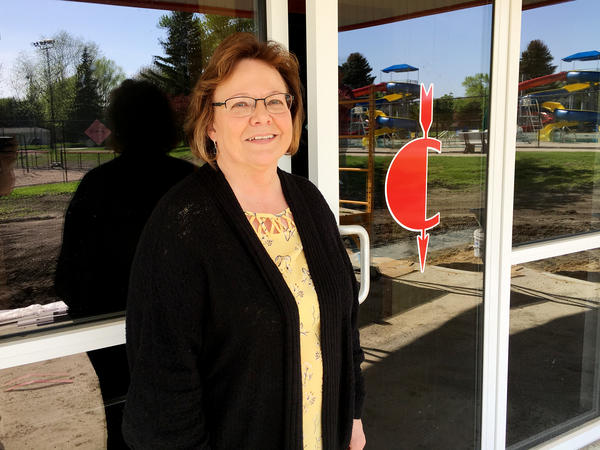 Renae Jacobsen oversees the spending of John Criss' bequest to Sac City, Iowa.