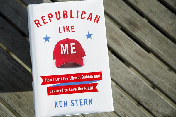 """Republican Like Me,"" by Ken Stern. (Robin Lubbock/WBUR)"