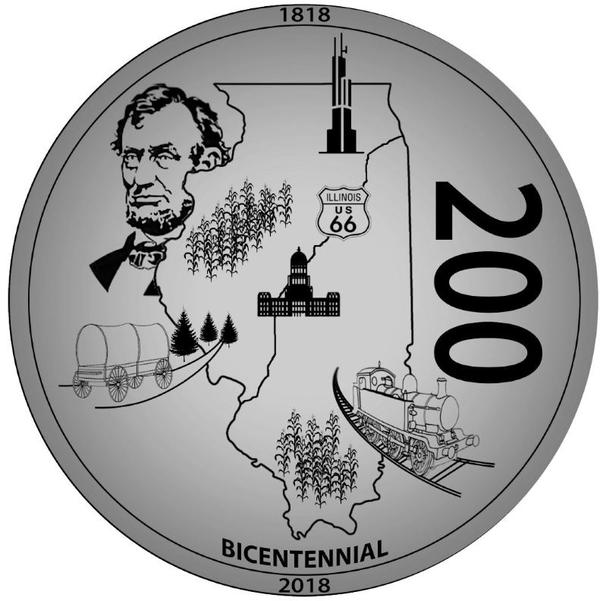 The winning coin face, designed by 21 year-old Hayden Schumer of Chatham.