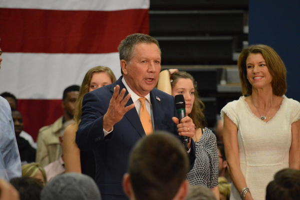 Kasich shared his views on the policy on MSNBC.